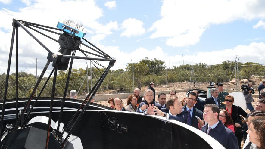 Inauguración del observatorio