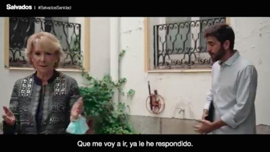 Esperanza Aguirre, en su segunda espantada de 'Salvados'