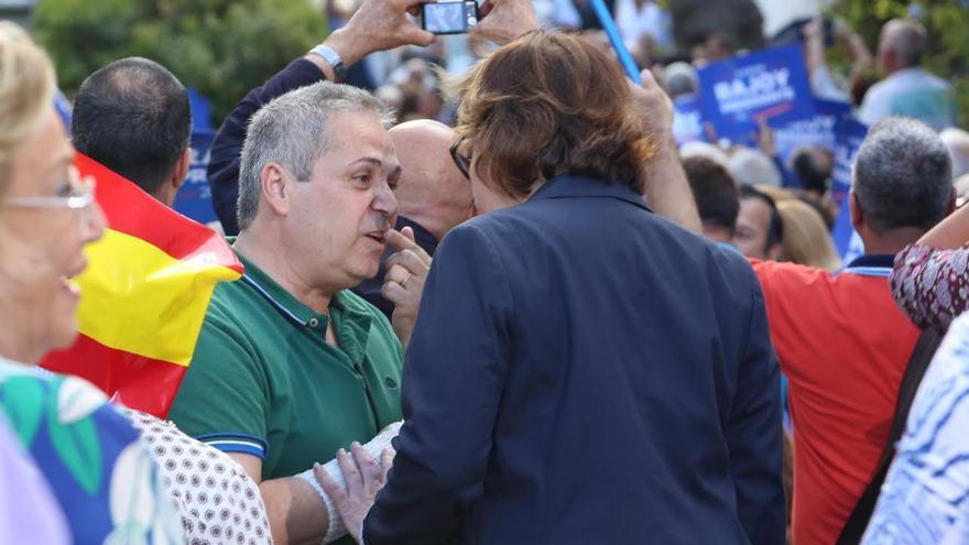 Juan Santana, responsable de prensa del PP. (ALEJANDRO RAMOS)