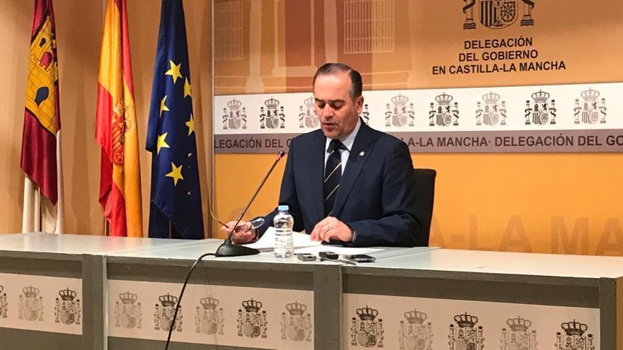 José Julián Gregorio, presentando las inversiones de los PGE en Castilla-La Mancha