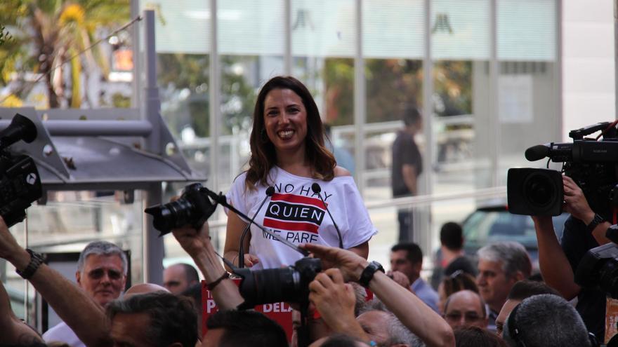 La candidata del Partido Socialista a la Alcaldía de Santa Cruz de Tenerife, Patricia Hernández.