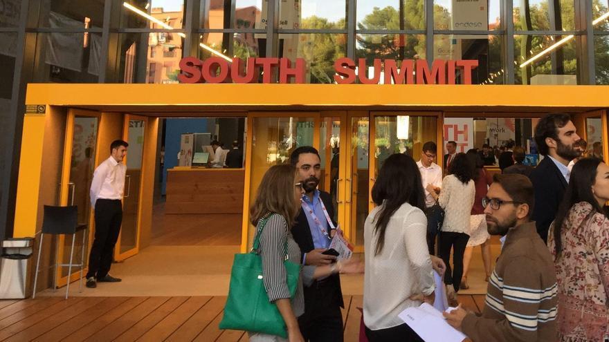 South Summit reunión a más 400 emprendedores del ámbito 'fintech'. / BBVA