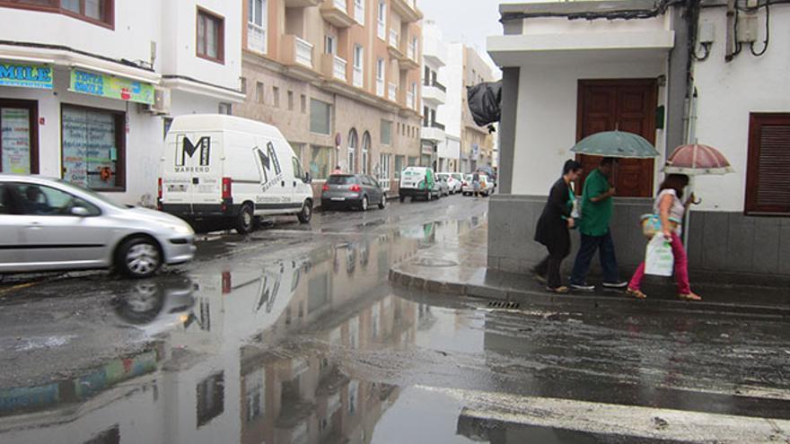 Lluvias en Lanzarote