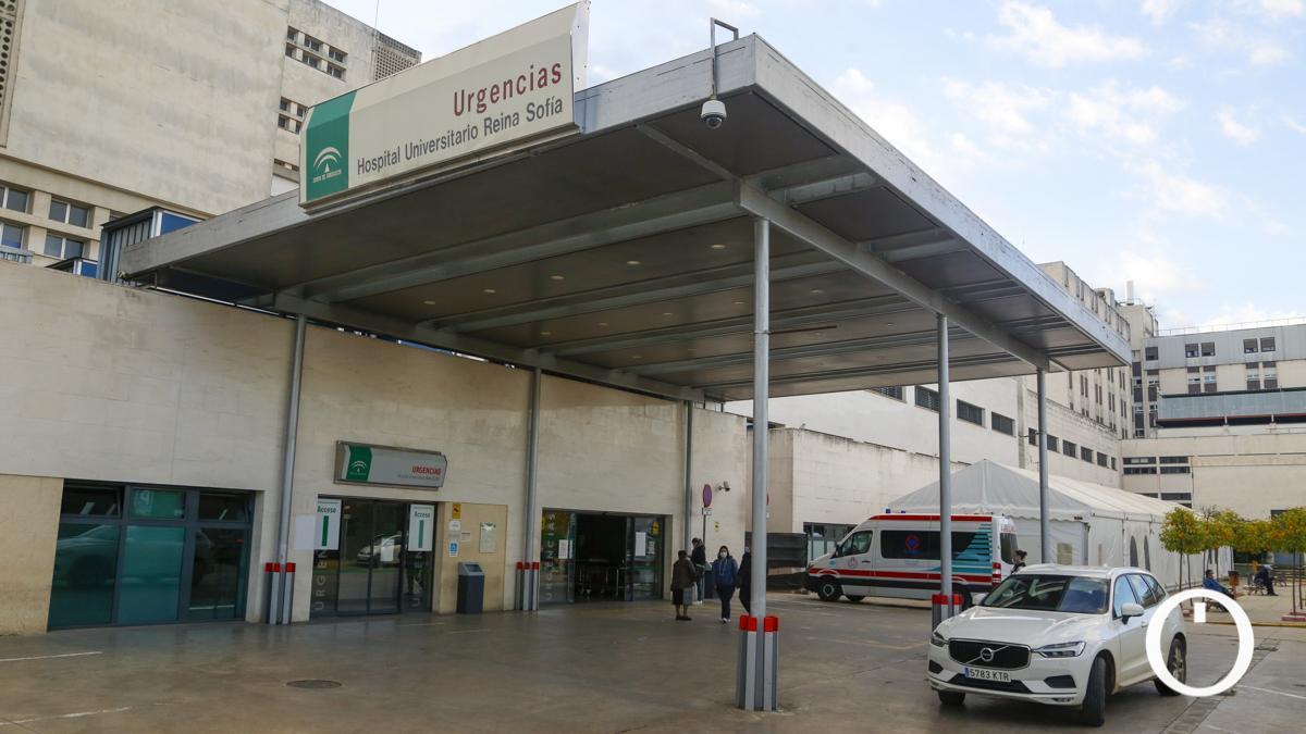 Puerta de Urgencias del Reina Sofía.