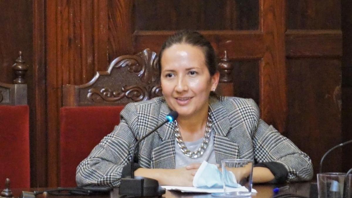 Lorena Hernández Labrador.