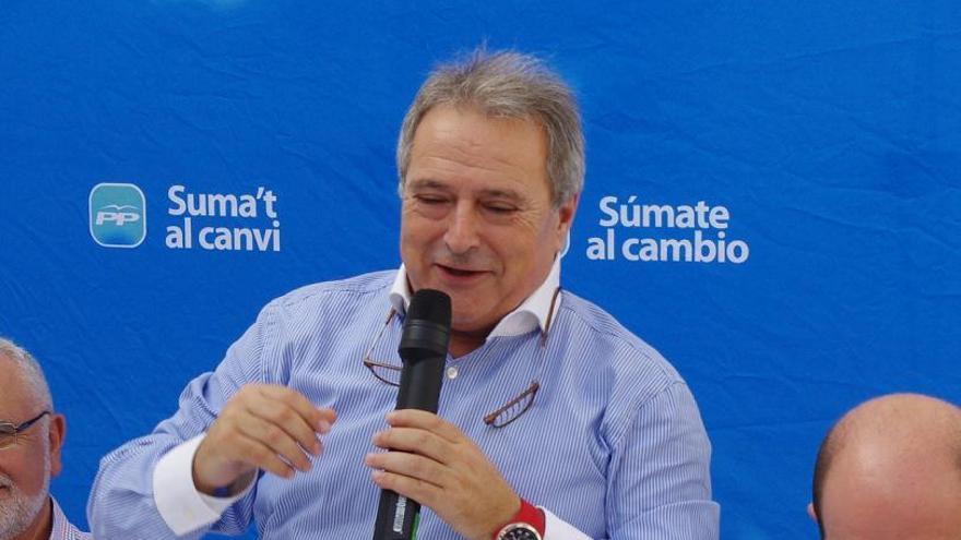 Afonsor Rus, presidente del CD Olímpic y de la Diputación de Valencia
