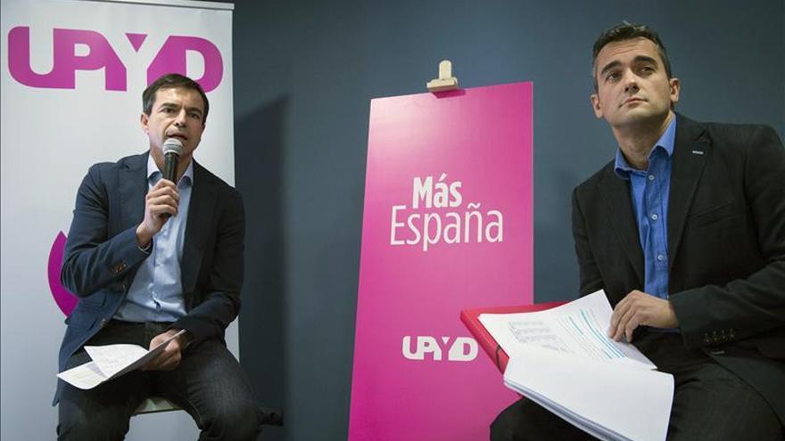 UPyD quiere blindar la igualdad económica y abolir privilegios territoriales