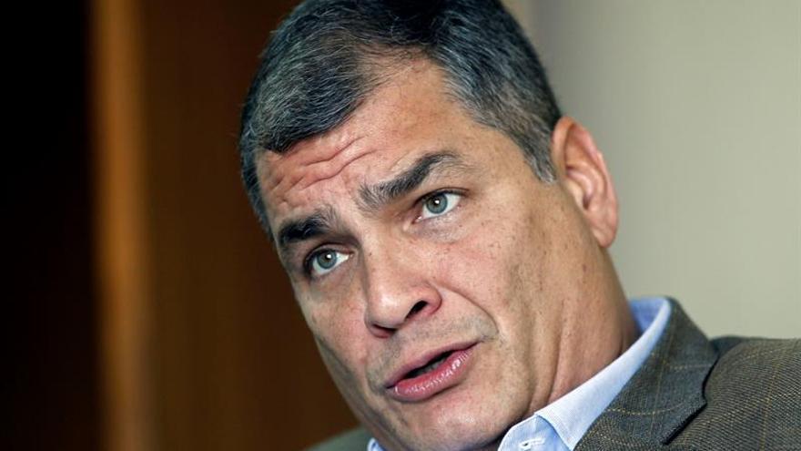 """Correa cree que los cálculos sobre la deuda buscan un escenario """"tremendista"""" en Ecuador"""