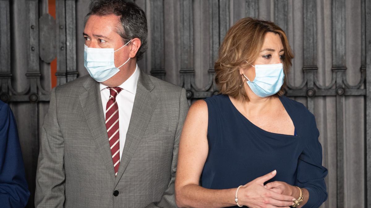 Juan Espadas y Susana Díaz se enfrentarán en las primarias por la candidatura del PSOE a la Junta.