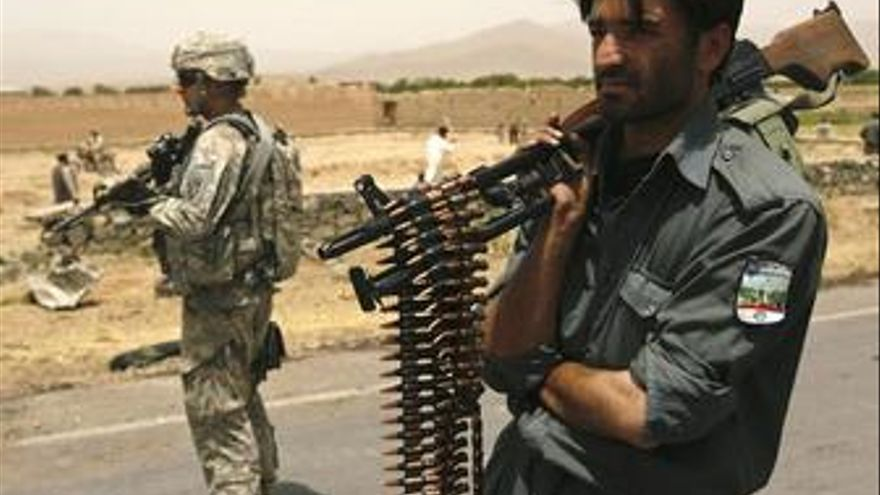 Ocho soldados estadounidenses y dos afganos muertos en el este de Afganistán