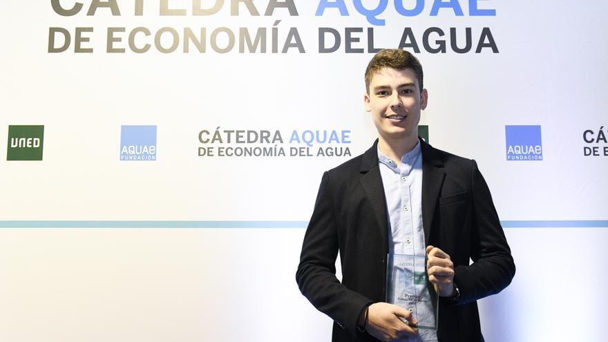 Un estudiante de la Universidad de Murcia gana uno de los 'Premios Cátedra Aquae de Economía del Agua'