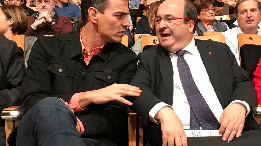 """Pedro Sánchez pide una participación masiva: """"Si tú no vas, ellos se quedan"""""""