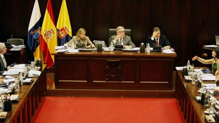 Pleno del Cabildo de Gran Canaria #7