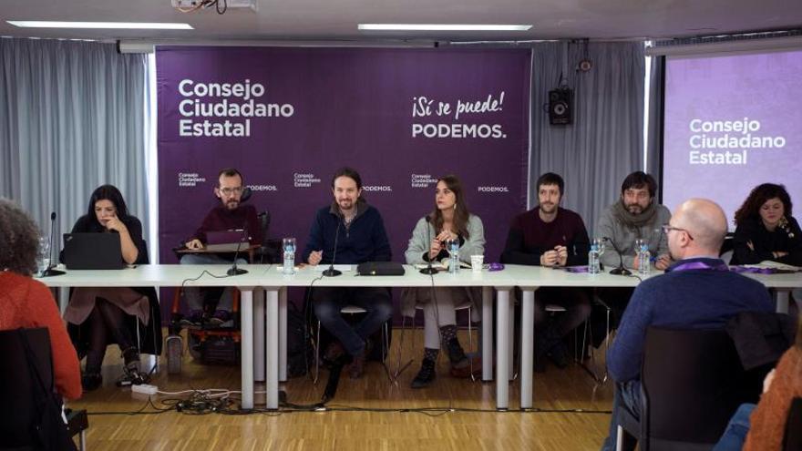 El Consejo Ciudadano de Podemos se posiciona mañana ante la reunión con Sánchez