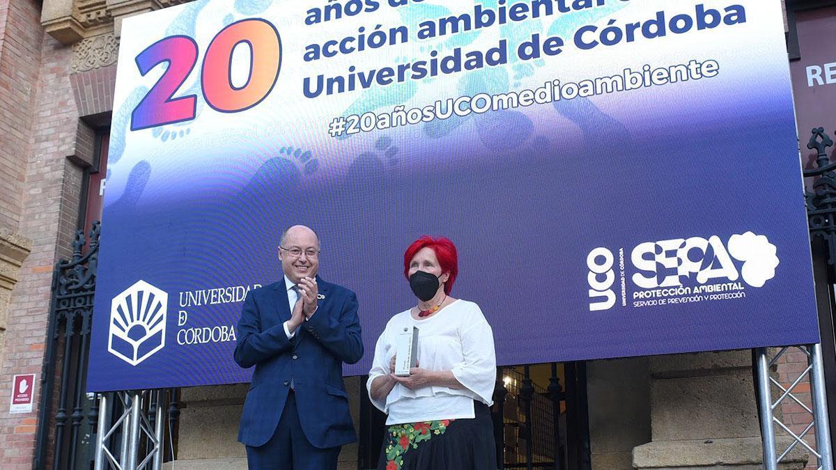 Pepe Larios, distinguido con el I Premios de Medio Ambiente de la UCO