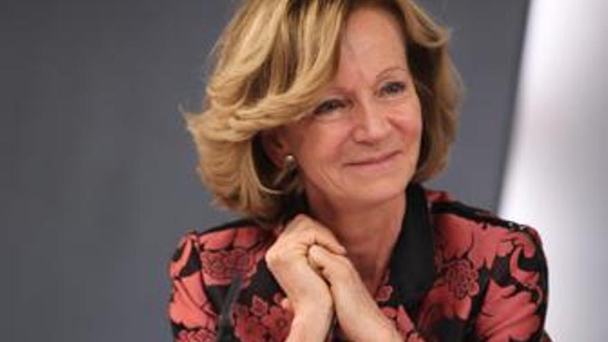 Vicepresidenta económica, Elena Salgado