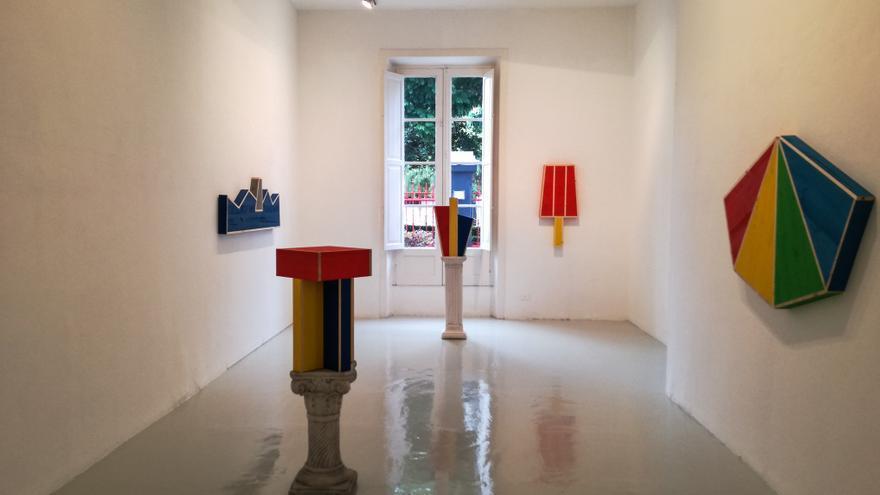 Obra de Pellizzi en Leyendecker, en Santa Cruz