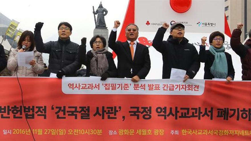 La oposición surcoreana insta al bloque gobernante a apoyar una moción contra Park