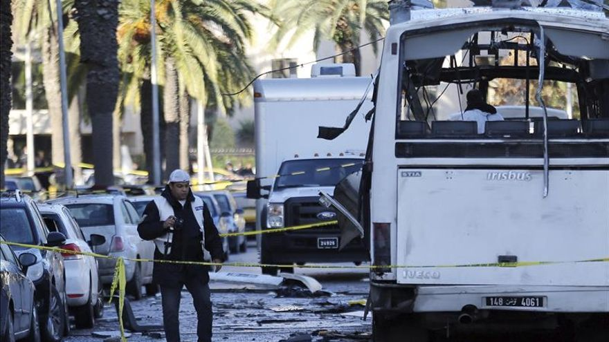 La presidencia tunecina confirma que el atentado fue obra de un suicida