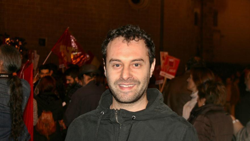 César ha participado en la Marcha de la Dignidad de Badajoz