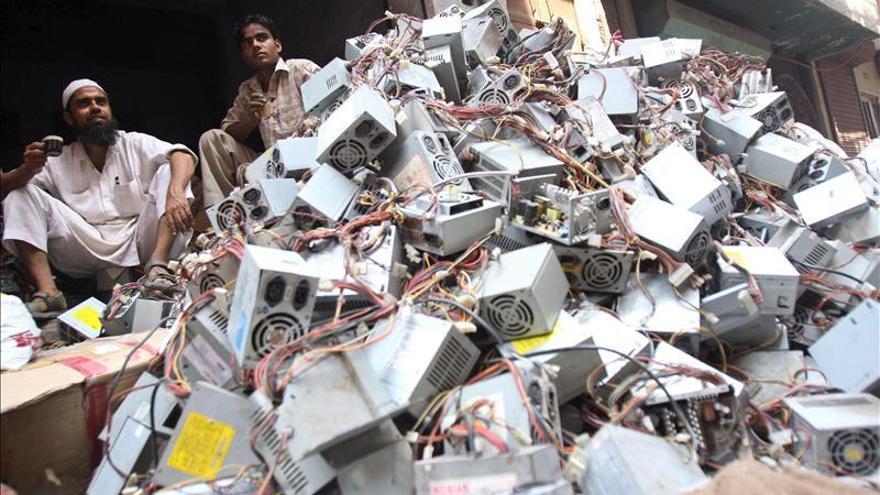 La basura electrónica aumentó en todo el mundo a 41,8 millones de toneladas