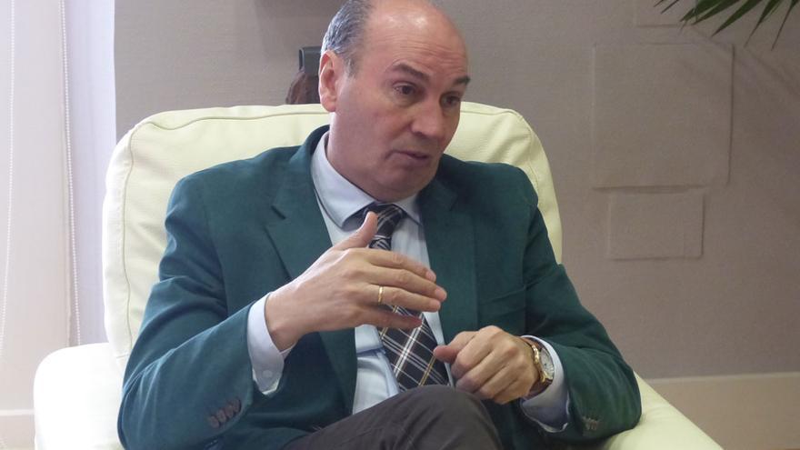 El presidente de la Diputación de Guadalajara