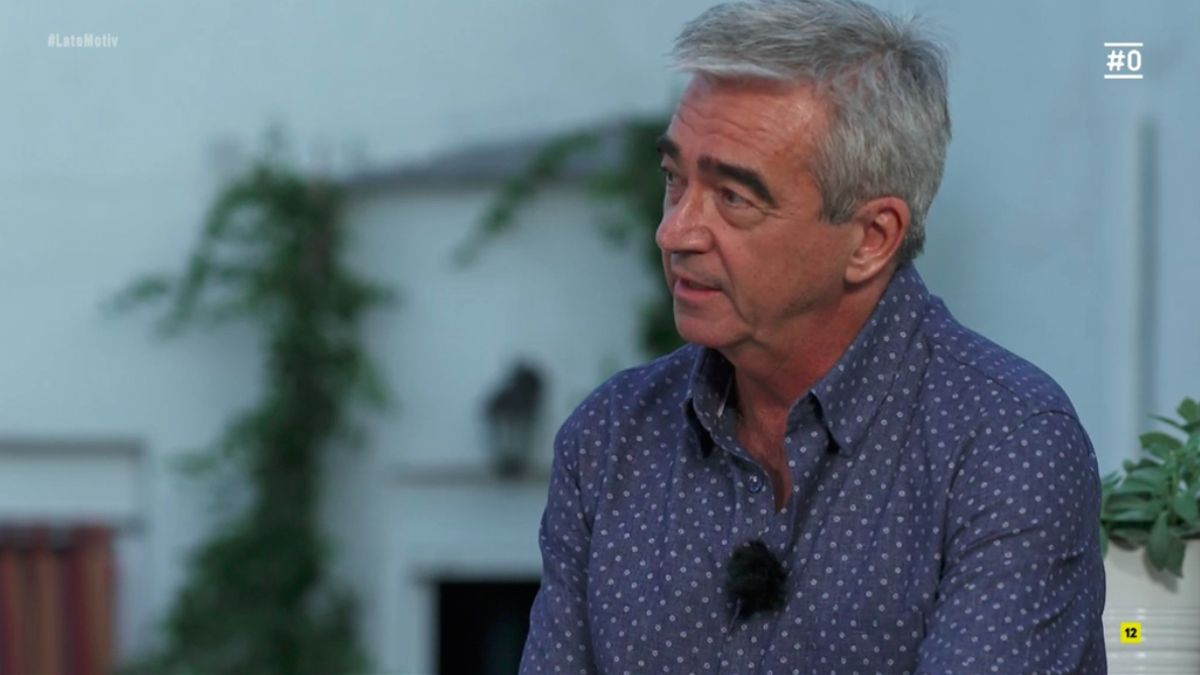 Carles Francino, en 'Late Motiv'