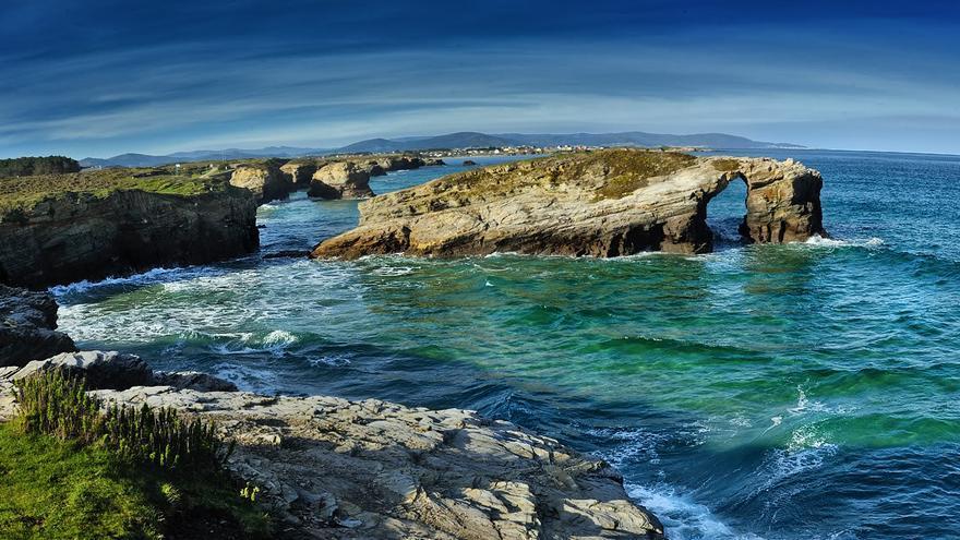 Playa de las Catedrales. Galicia