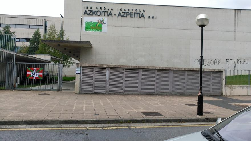"""Covite denunciará ante la AN un acto de """"enaltecimiento del terrorismo"""" en un instituto de Azpeitia (Gipuzkoa)"""