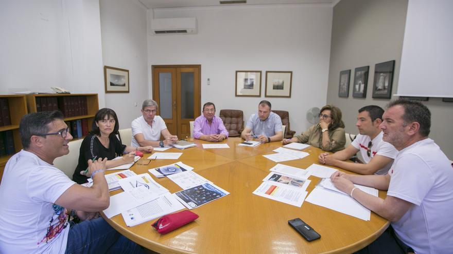 Imagen de la reunion realizada en Gandia