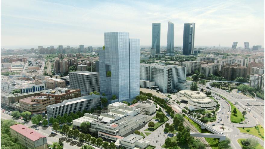 Proyecto de Metrovacesa para la antigua fábrica de Clesa en Madrid