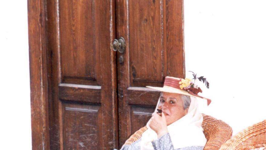 María Victoria Hernández, diputada por La Palma del Grupo Socialista en el Parlamento de Canarias.