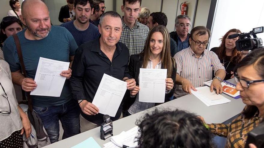 Compromís-Podemos-EU pactan exigir grupo propio hasta llegar al TC