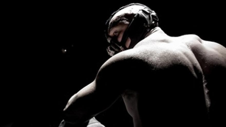 Tom Hardy Es Bane En The Dark Knight Rises Batman 3