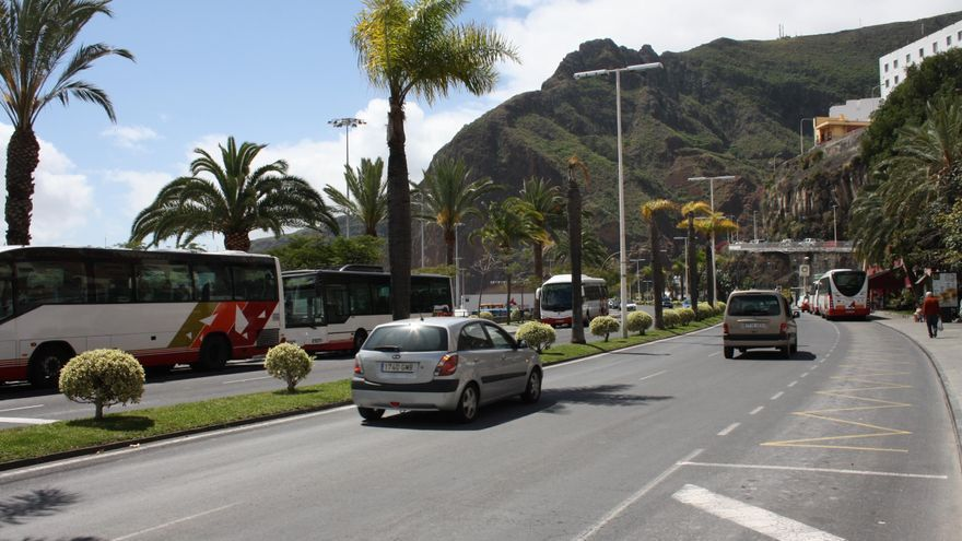 Avenida de Los Indianos de Santa Cruz de La Palma.