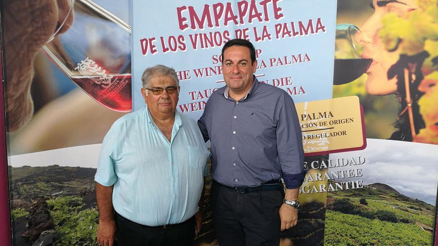 Juan Crispo (i) y Basilio Pérez.