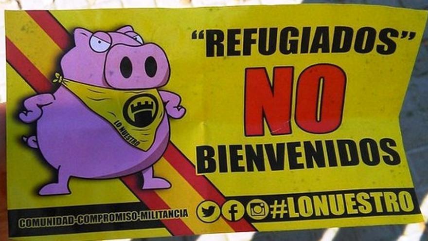 Una de las pegatinas encontradas por las calles de Badajoz / @JoBadajoz