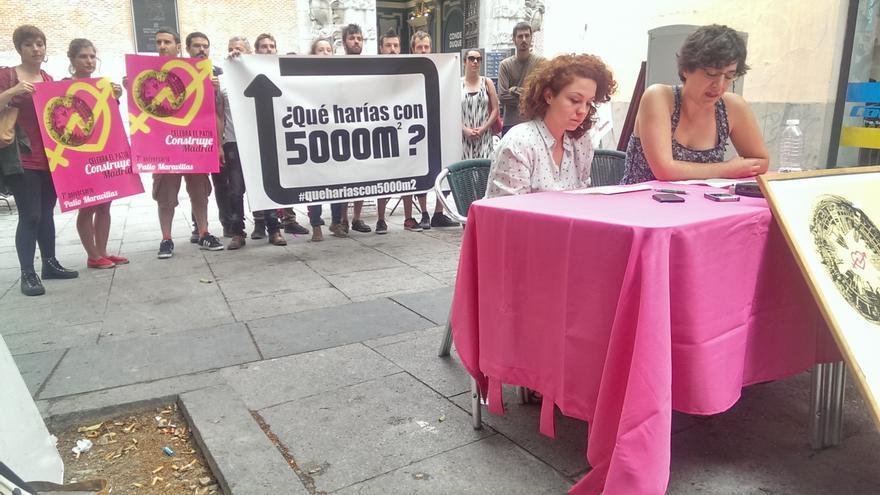 El Patio Maravillas denuncia el abandono de espacios públicos por parte del Ayuntamiento de Madrid / Mario Munera