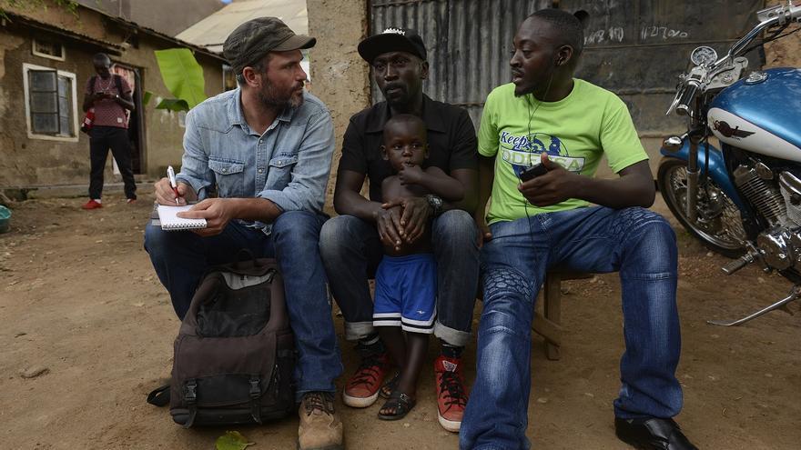 Xavier Aldekoa, en Uganda