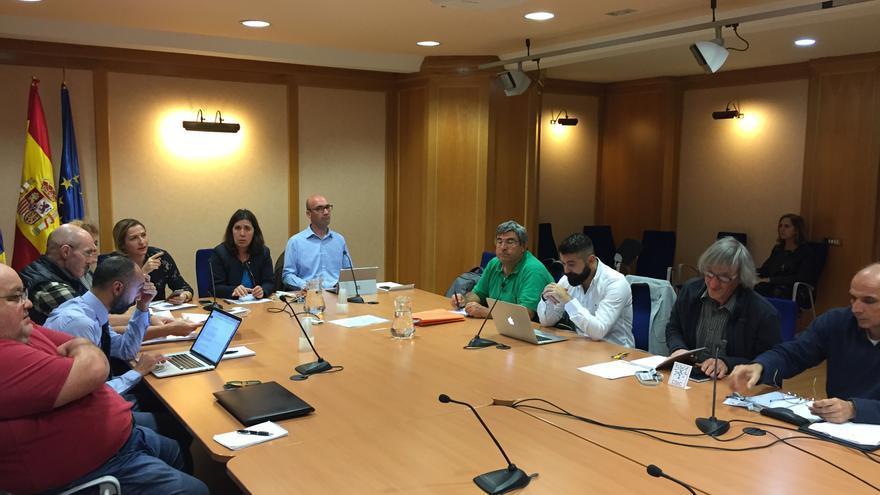 Reunión Comité Científico del Pevolca celebrada este viernes.