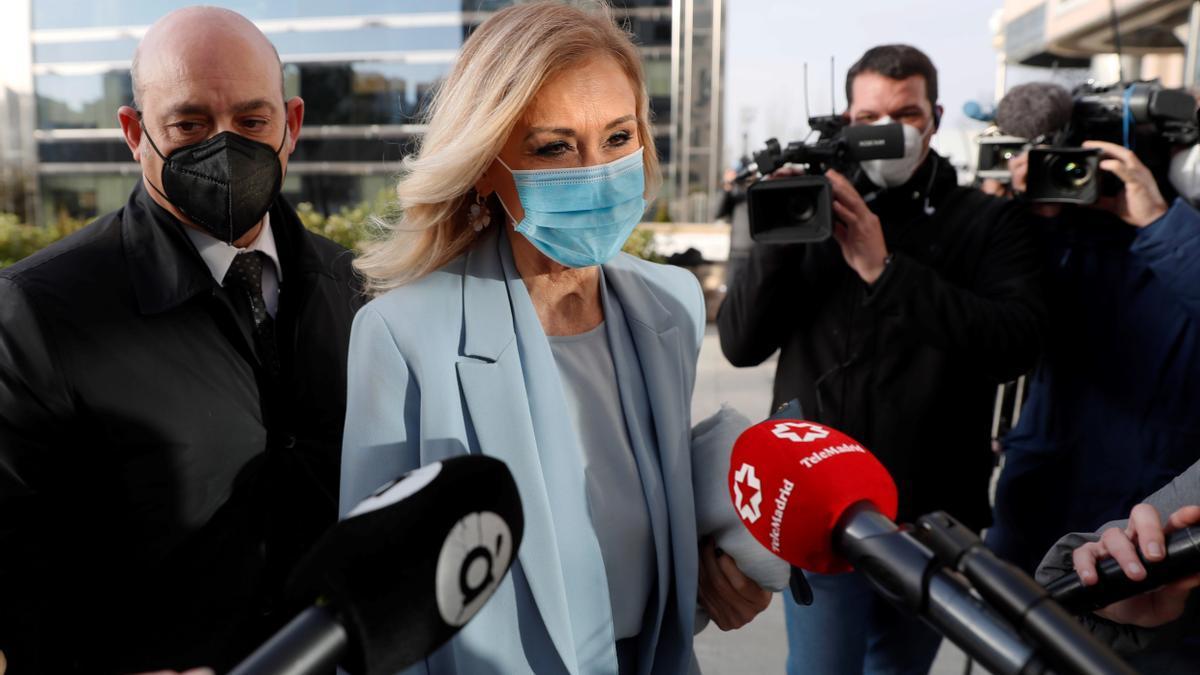 La expresidenta de la Comunidad de Madrid Cristina Cifuentes.