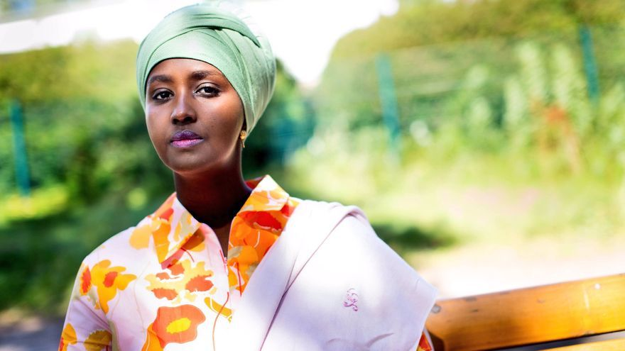 Fadumo Dayib, candidata a la presidencia de Somalia y refugiada en Finlandia.
