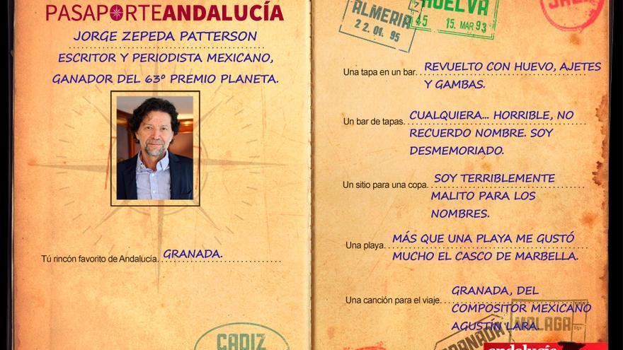 PASAPORTEST: Con Jorge Zepeda Patterson