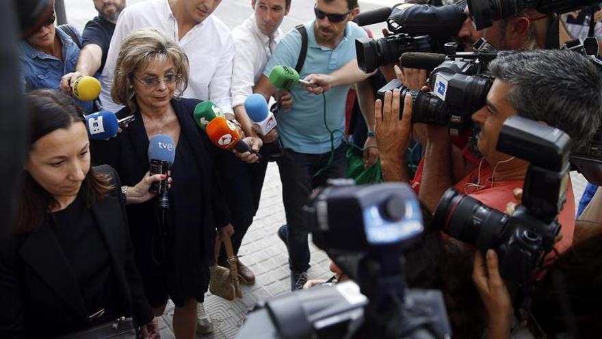La exedil de Valencia Alcón se niega a declarar por contratos irregulares