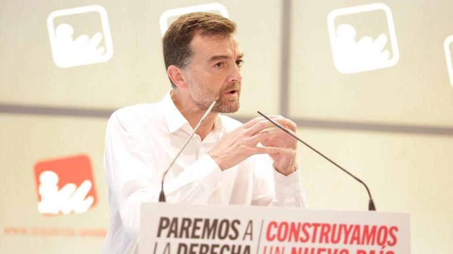 Maíllo celebra que IU someta a referéndum de toda su militancia las bases de la unidad de cara al nuevo ciclo electoral