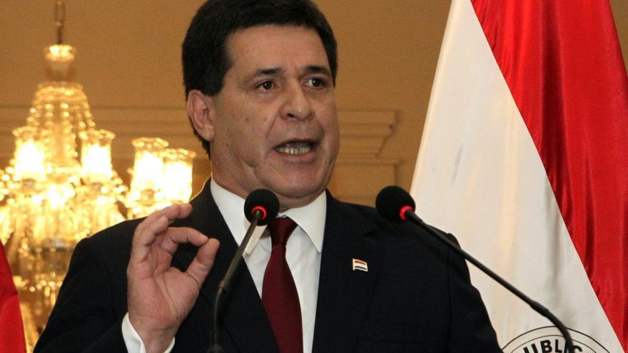 El expresidente paraguayo Horacio Cartes insta al Gobierno cubano a escuchar al pueblo