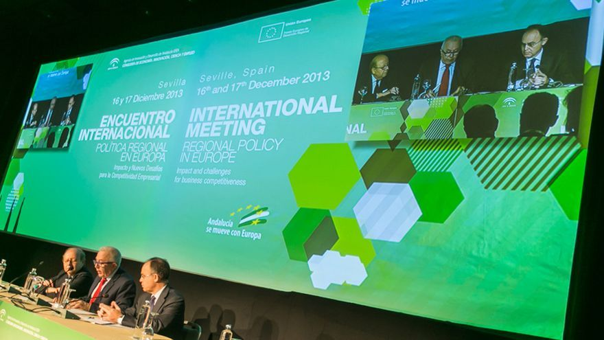 Encuentro Internacional sobre Política Regional en Europa celebrado en Sevilla.