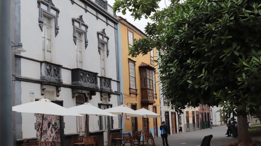 La Laguna inspecciona las medidas contra la COVID-19 de las terrazas de hostelería y restauración