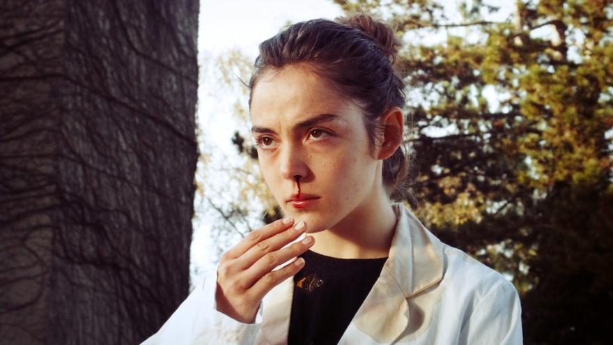 Garance Marillier protagonista de 'Curdo', una película de Julia Ducournau.