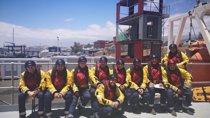 Alumnos del curso desarrollado en Las Palmas de Gran Canaria